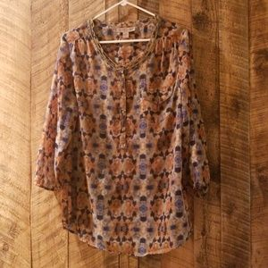 Lite weight tunic from Nine West